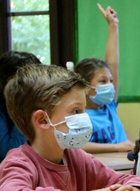 El uso de la mascarilla será obligatorio a partir de 6 años