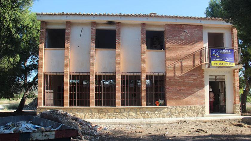El antiguo colegio quedará rehabilitado como Local Social
