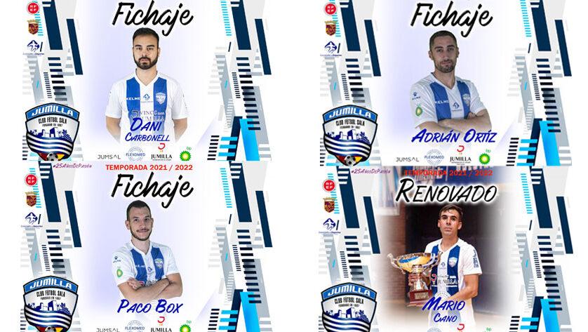 El Vinos DOP Jumilla FS incorpora a tres nuevos jugadores a su plantilla