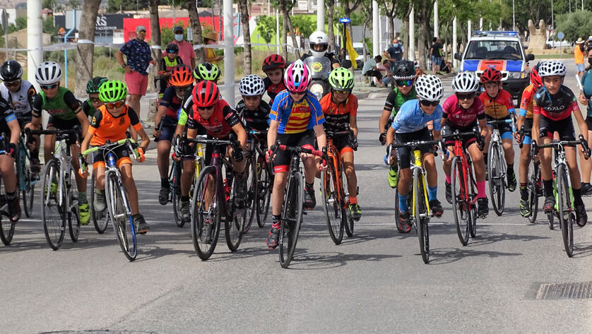 La Escuela de Ciclismo Jumilla estuvo en pruebas del calendario de Valencia y Castilla La Mancha