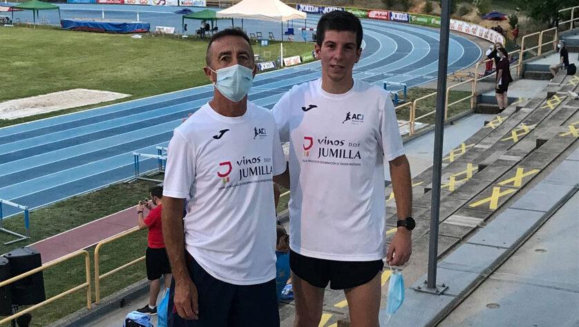 Mario Monreal rebaja en más de 12 segundos su marca de los 3.000 m lisos en el Campeonato de España Sub-20