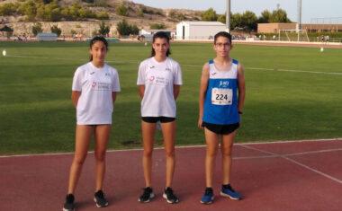 Una medalla para el Athletic Club Vinos DOP Jumilla en el Campeonato Regional Sub-16