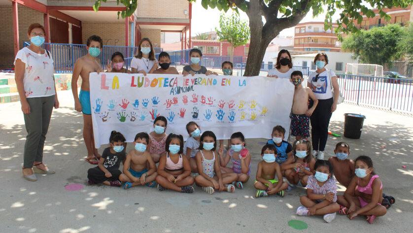 140 menores han participado en las Ludotecas de Verano 2021