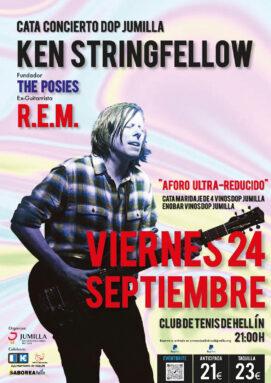 Cartel del concierto de Ken Stringfellow