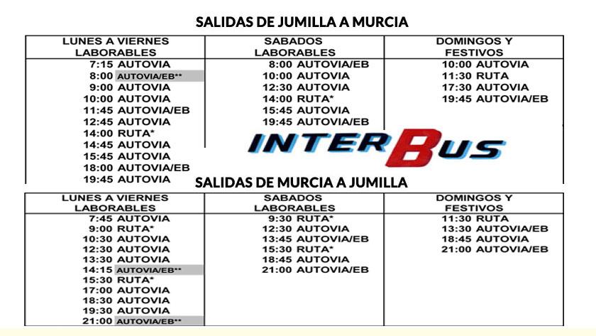 Jumilla-Murcia Murcia-Jumilla