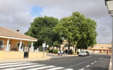 Cañada del Trigo renueva el firme de varias de sus calles a través del Plan de Asfaltado en Pedanías 2021