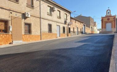 El Plan de Asfaltado 2021 mejora distintas calles de varias pedanías