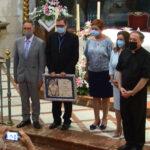 El vicecanciller y vicesecretario general de la Diócesis de Cartagena, Diego Martínez, pronuncia el pregón de la Asunción