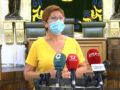 """La alcaldesa insiste en la importancia de vacunarse: """"Seamos responsables por nosotros y por los demás"""""""