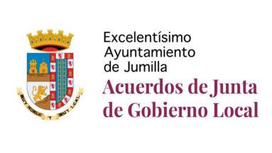 Acuerdos de Junta Local de Gobierno del lunes 4 de octubre de 2021