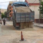 Las obras de renovación de infraestructuras de la calle Valencia finalizarán la semana próxima