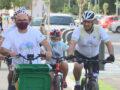 Un centenar de ciclistas participan en la marcha cicloturista de la Semana Europea de la Movilidad