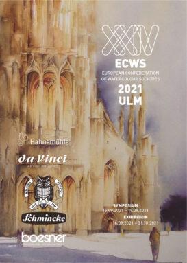 Cartel del XXIV Simposio Europeo de la Acuarela
