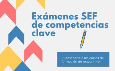 El SEF abre la inscripción para las pruebas de competencias clave que se celebrarán en noviembre