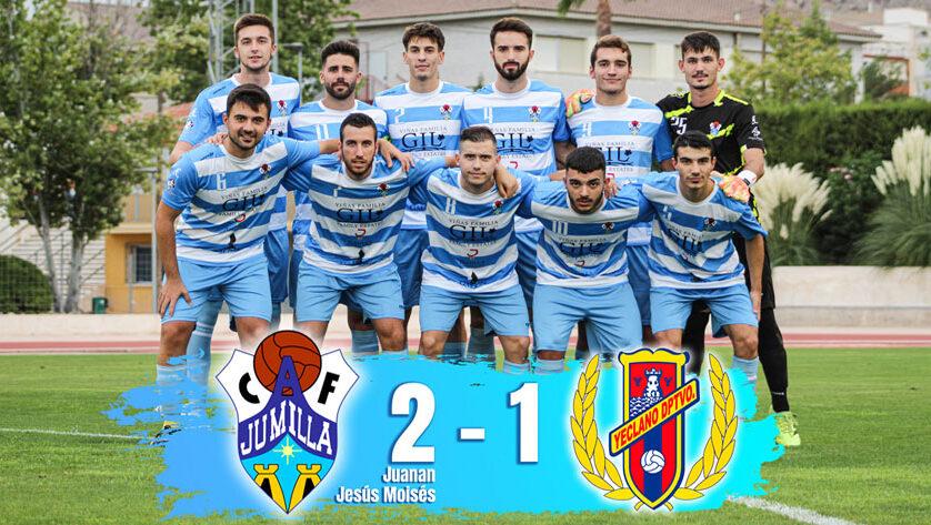 El Jumilla ACF suma otra victoria en el partido de pretemporada que le enfrentó el miércoles al Yeclano Deportivo B