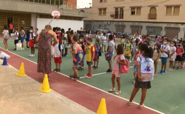 Cerca de 2.600 alumnos han iniciado hoy el curso 2021/22 en Educación Infantil y Primaria