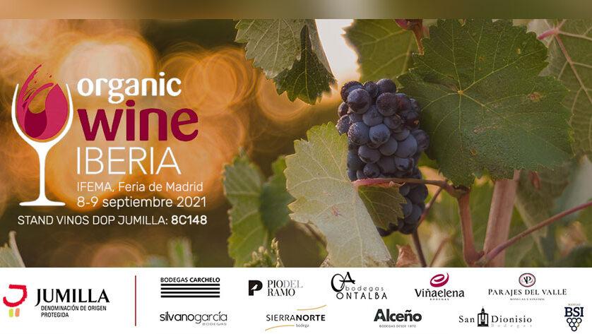 La DOP Jumilla asiste a la Feria Organic Wine Iberia en Madrid que comienza mañana