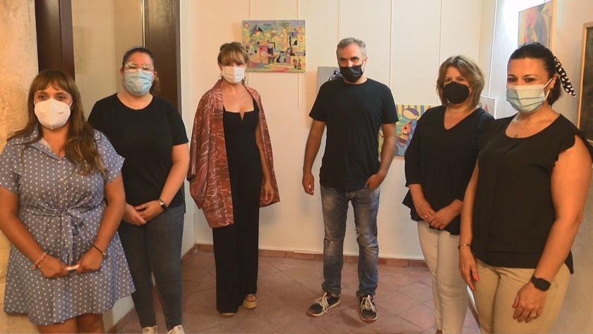 """La exposición """"Mímesis"""" estará en la Casa del Artesano hasta el 30 de noviembre"""