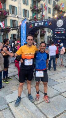 Luis Miguel Castillo Albert y Antonio José Bleda Jiménez participaron en la modalidad de 55 km