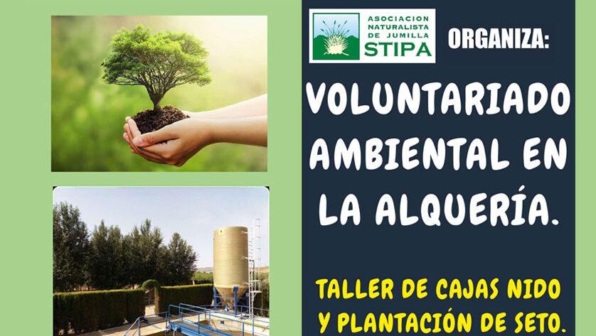STIPA y Aguas de Jumilla preparan un proyecto de voluntariado ambiental con motivo del Día Mundial de las Aves