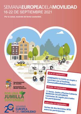 Eventos para la Semana Europea de la Movilidad en Jumilla