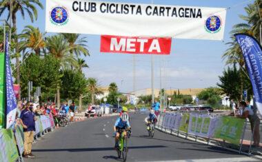2 victorias y 5 puestos de podio para los de la Escuela Ciclismo Jumilla en la cita de Cartagena