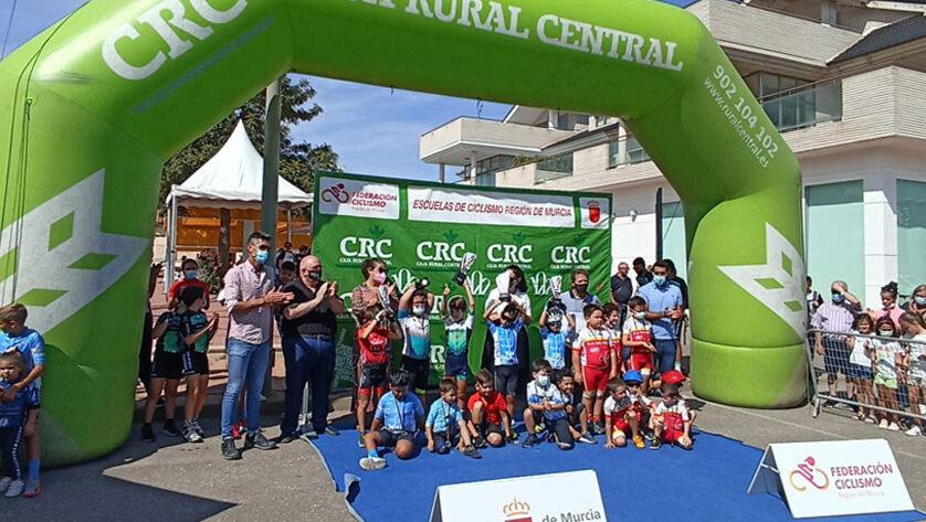 La Escuela de Ciclismo Jumilla vuelve a subir al podio en Torre Pacheco