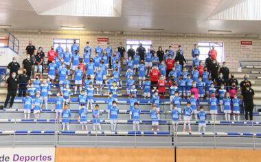 La Escuela de Fútbol Sala Bodegas Carchelo presentó a sus equipos