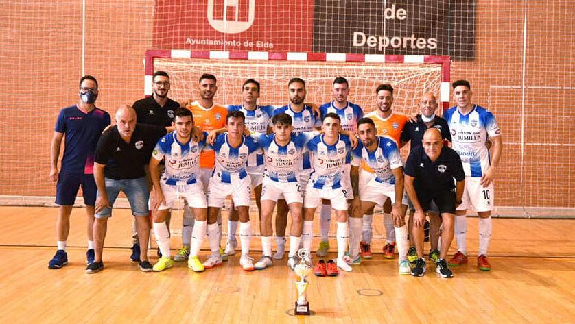 El Vinos DOP Jumilla FS vence al Club Deportivo Nueva Elda FS en su último partido de pretemporada
