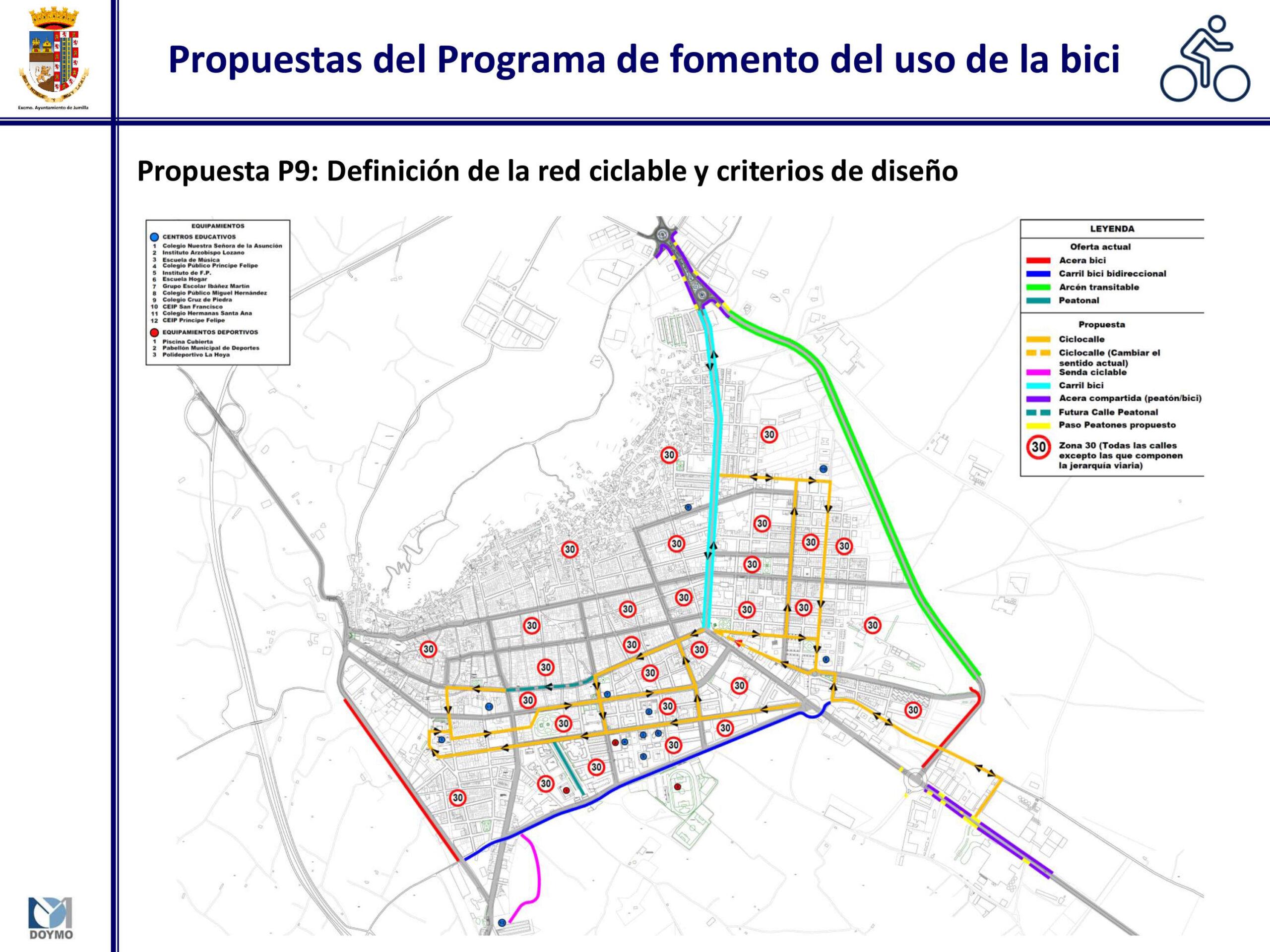 Se pretende dar prioridad al peatón y al transporte en bicicleta