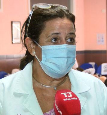 Toñi Gómez, responsable del Departamento de Promoción del Centro de Hemodonación