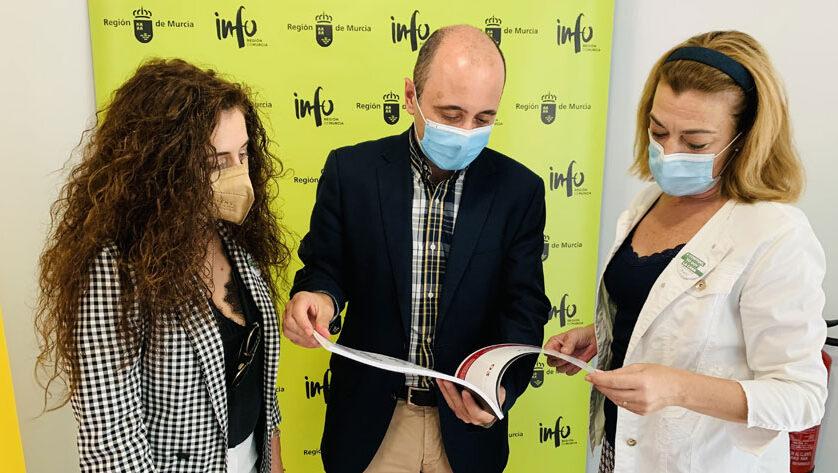 Seve González se reúne con el director del Instituto de Fomento para impulsar Jumilla como una ciudad industrial