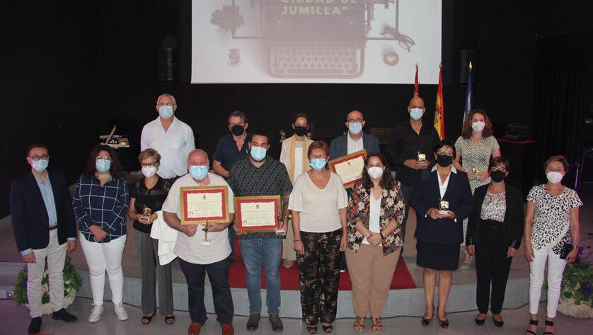Entregados los galardones de las ediciones XXXII y XXXIII del Premio Literario Ciudad de Jumilla