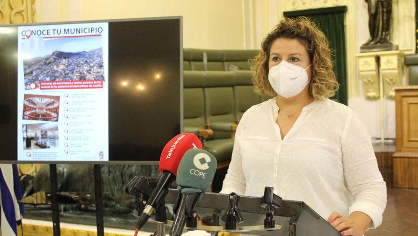 Los vecinos de las pedanías realizarán visitas guiadas al casco urbano mediante la actividad 'Conoce tu municipio'