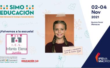 El IES Infanta Elena gana uno de los premios que otorga SIMO EDUCACIÓN 2021