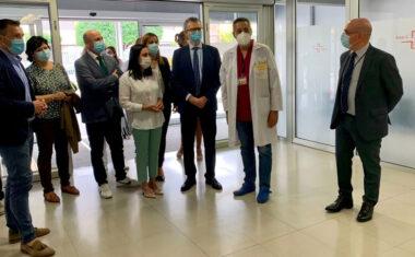 Iniciada la reforma de la tercera planta del hospital de Yecla que permitirá modernizar las zonas de maternidad y neonatos