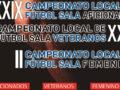 Abierto el plazo de preinscripciones de equipos para el Campeonato Local de Fútbol Sala 2021/22