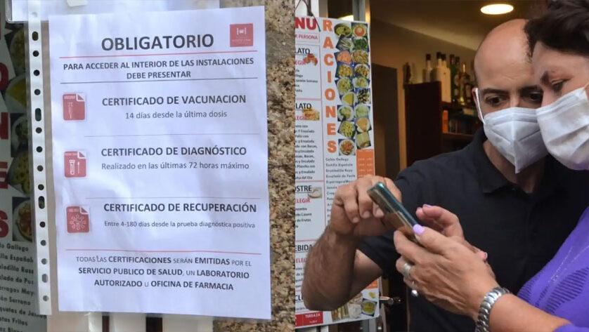 El TSJ de la Región avala el uso del certificado Covid en salones de celebraciones y discotecas