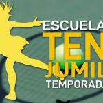 Abierto el plazo de inscripciones para la Escuela Municipal de Tenis