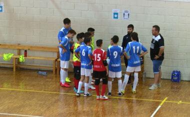 Derrota del Infantil B de la Escuela de Fútbol Sala Bodegas Carchelo (0-6)