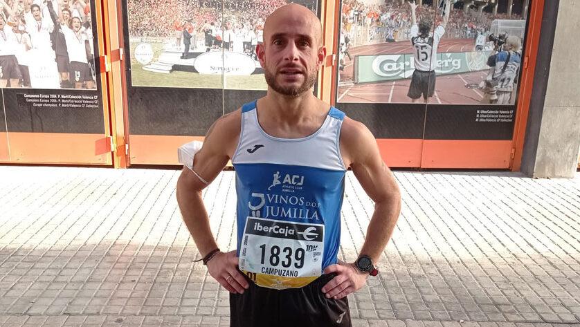 El Athletic Club Vinos DOP Jumilla estuvo en los 10 km de Valencia