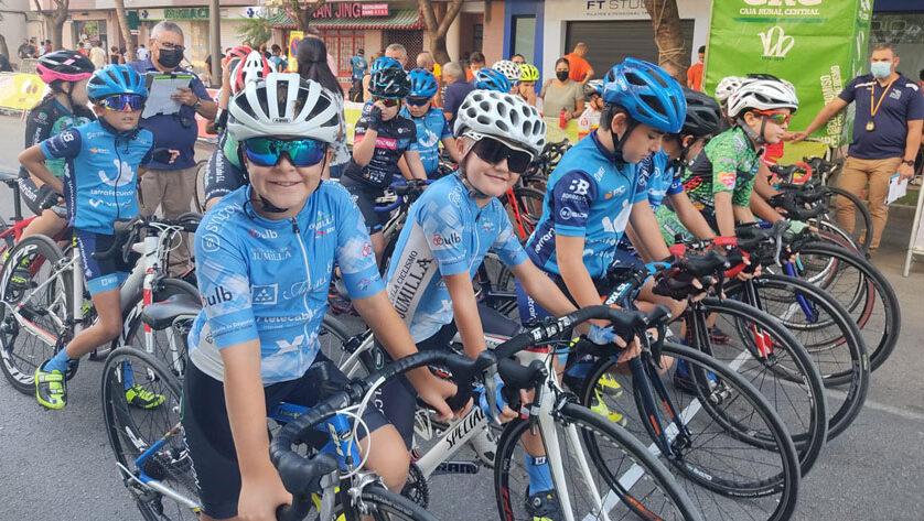 La Escuela de Ciclismo Jumilla cierra la temporada de carretera con 6 podios en Lorca