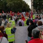 Podemos Jumilla estuvo en la movilización para reivindicar unas pensiones públicas dignas