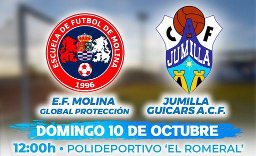 Quinta jornada para el Jumilla Guicars ACF en el campo de la Escuela de Fútbol Molina
