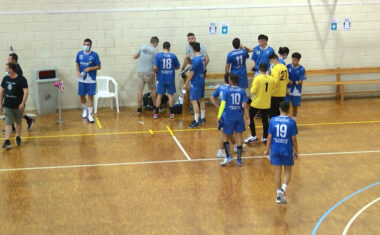 Segunda victoria consecutiva para el senior masculino del Club Balonmano Jumilla